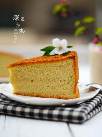 奶茶戚风蛋糕的做法