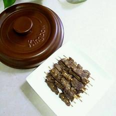 砂锅烤牛肉串