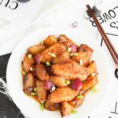 土豆炖鸡翅