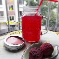 夏季消暑饮品之杨梅汁