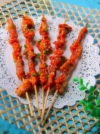 麻香烤肉串的做法