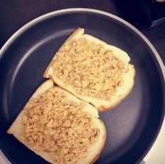 芝士咸牛肉三明治