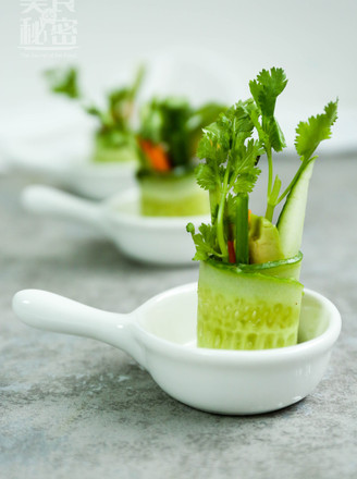 清凉黄瓜卷的做法