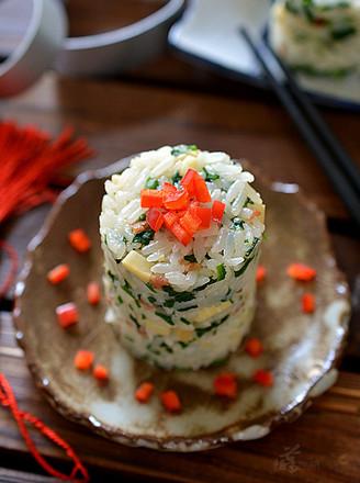 荠菜冬笋饭的做法