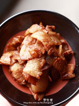 小炒肉的做法