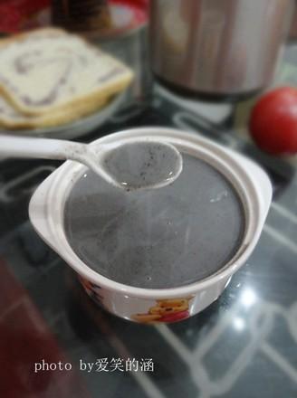 红枣黑芝麻米糊的做法