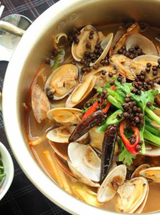 麻辣水煮花蛤的做法