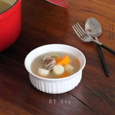 当归鸡怎么做排骨山药汤的做法