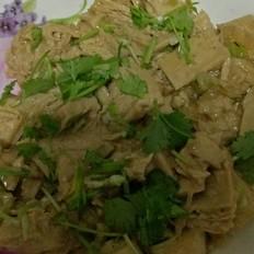 西兰花泥辅食怎么做葱花冻豆腐的做法