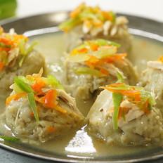 等戴一道菜之绣球豆腐