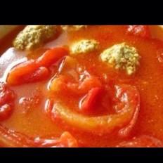 西红柿肉圆浓汤