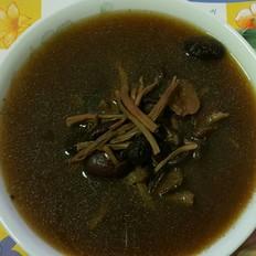 茶樹菇烏雞湯
