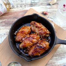 蒜香果酱煎鸡翅丘比果酱