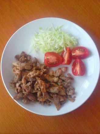生姜味猪肉的做法