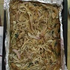 豆芽金針菇