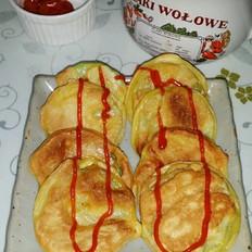 西葫芦饼(角瓜饼)