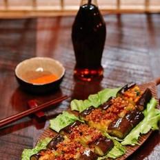 鲜虾怎么炒好吃烤茄子的做法