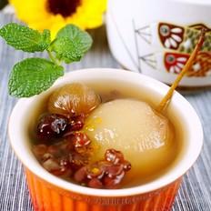 红枣蜜梨汤
