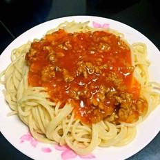 芝士番茄肉酱意面