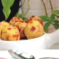 土豆培根奶酪球