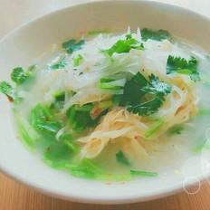干豆腐蘿卜絲湯