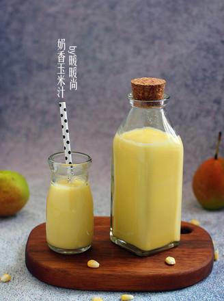 奶香玉米汁的做法