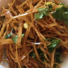 开胃菜:凉拌芥菜丝