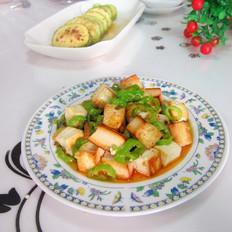 煎炒豆腐丁