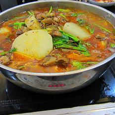 羊肉蘿卜火鍋