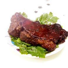 試做的烤羊肉