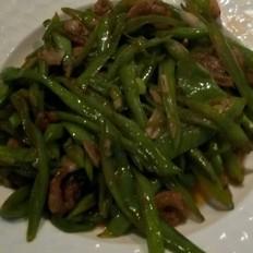 扁豆炒海米