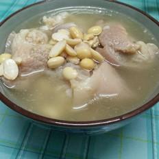 鳝干怎么做好吃黄豆猪脚汤的做法