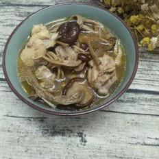 茶樹菇雞湯