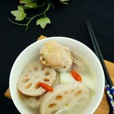 山藥蓮藕雞湯