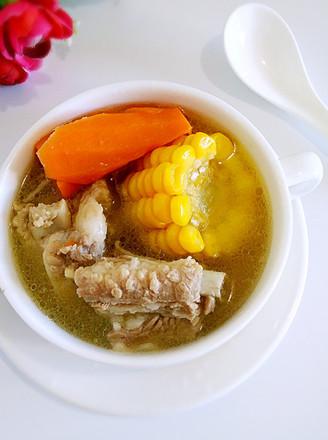 玉米排骨胡蘿卜湯的做法