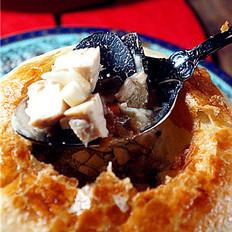 法式酥皮松露汤