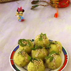 芝麻沙拉土豆丸