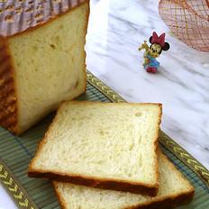 大花莲怎么做好吃白土司面包的做法