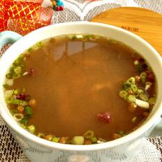 红绿豆瑶柱瘦肉汤的做法