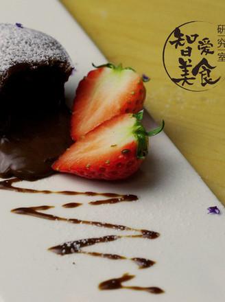 情人节熔岩巧克力蛋糕的做法