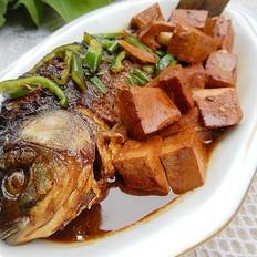 紅燒鯽魚豆腐