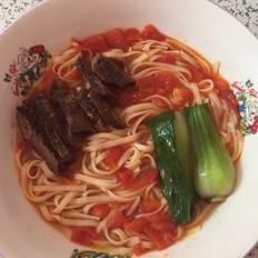 番茄牛肉面