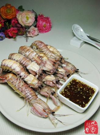 蒸皮皮虾的做法