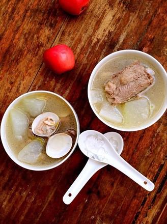 蛤蜊冬瓜排骨汤的做法