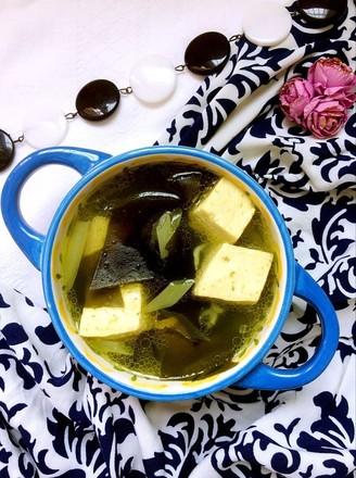 家常海带豆腐汤的做法