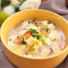 蝦皮豆腐蔬菜羹  寶寶健康食譜