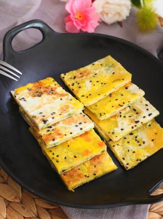 饺子皮葱油饼  宝宝健康食谱的做法