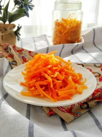 消食化痰的糖渍橙皮的做法