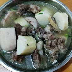 淮山莲藕骨头汤