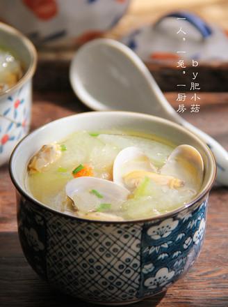 花蛤冬瓜汤的做法